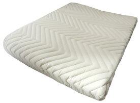 綿ベッドパッド シングル ベージュ・ブルー・ピンク 防ダニ・洗える洗濯可能 汗取りマットレスパッド 寝装品 日本製寝具 送料無料