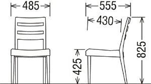 カリモクCT6110/食堂椅子/食卓椅子/ダイニングチェア/合成皮革・布張り/肘付椅子/送料無料/日本製家具/木製/単品・バラ売り/