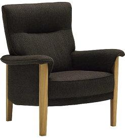 カリモク UW3700モデル 肘掛椅子 1Pソファ 布張肘掛 一人掛け ファブリック パーソナルソファー ハイバック レザー 送料無料 おすすめ おしゃれ 人気 karimoku 日本製家具 正規取扱店