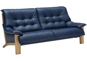 カリモク ZU4903 3Pソファ 本革張レザーソファ 肘掛ソファ トリプルチェア 3人掛け長椅子 おすすめ おしゃれ 人気 karimoku ZU49モデル 日本製家具 正規取扱店