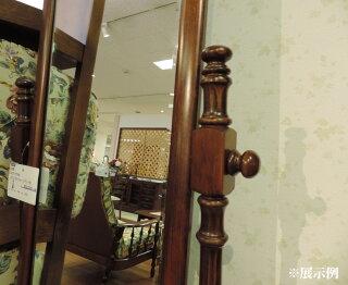 カリモクAC7177NK姿見ミラーコロニアルウォールナット全身鏡角度調整可能送料無料日本製家具正規取扱店