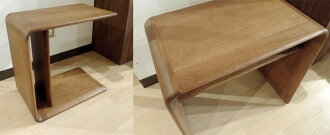 カリモクTU1970ME/ミニテーブル/ソファーテーブル/机/棚付き/送料無料/日本製家具