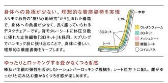 カリモクXU6000/ロッキングチェアー/PCチェア/肘付きデスクチェアー/合成皮革・ファブリック布張り/パソコン椅子/アイアン/コンパクト/オフィスチェア/ハイバック/送料無料/日本製/おすすめ/おしゃれ/OAチェア/