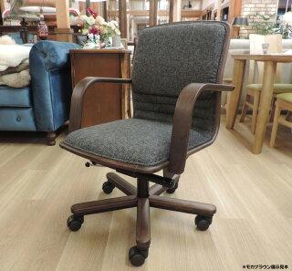 カリモクXS0650肘付PCチェアデスクチェアーパソコン椅子ロッキング式アイアンコンパクト事務椅子オフィスチェア送料無料karimoku日本製家具正規取扱店おすすめおしゃれOAチェアファブリック布張り