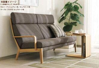 カリモクTU1970MEミニテーブルソファーテーブル机棚付きダークブラウンナチュラルグレーホワイト白ブラック黒送料無料日本製家具正規取扱店