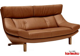 カリモク ZU4622 2人掛け椅子ロング 幅189 2P本革ソファ 肘掛椅子 ハイバック ラブソファ 送料無料 おすすめ おしゃれ 人気 karimoku 日本製家具 正規取扱店