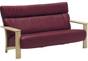 カリモク WT4103 3Pソファ 本革張レザーソファ 肘掛ソファ トリプルチェア 3人掛け長椅子 フィットするコンパクトモデル おすすめ おしゃれ 人気 karimoku 日本製家具 正規取扱店