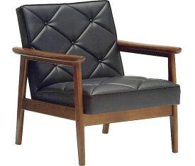 カリモク WS1190BW(旧WS1180BW) 肘掛椅子1Pソファブラック 合成皮革張チェア ビンテージ風 レトロ 古風 コンパクト カリモク 60Kチェア風 カフェ 送料無料 おすすめ おしゃれ 人気 karimoku 日本製家具 正規取扱店