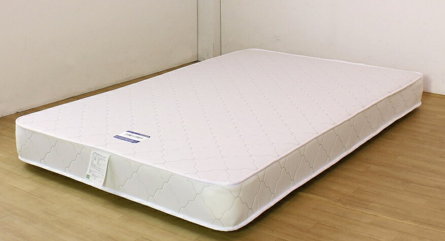 10816B国産ボンネルマットレス セミハード ダブルサイズ 友澤ベッド 送料無料 日本製