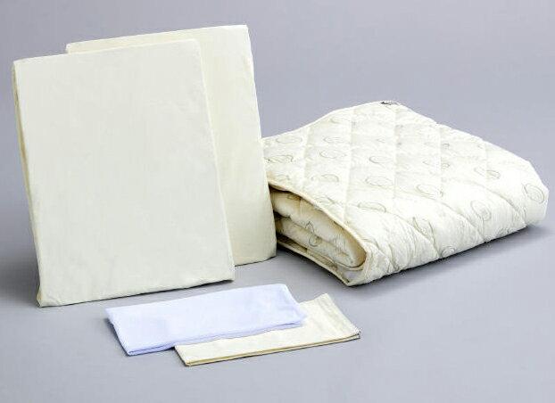 アンネルベッド 抗菌ベッドメーキング5点セット ワイドダブル ベッドパッド&シーツ2枚 オススメ布団カバーセット マットレスカバー 送料無料