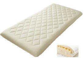 東京西川 NS7050 ボリューム軽量敷きふとん ダブル 羊毛布団KD27304024 1枚もの コンパクト 日本製寝具 送料無料
