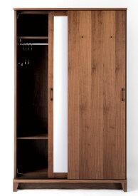 レグナテック サーラ120スライドワードローブ 収納たんす ブレザータンス スーツ背広掛け ウォールナット オーク 天然木 LEGNATEC クラッセ CLASSE Grosse 日本製家具