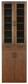 レグナテック メリッサ60カップボード 食器棚 キッチン収納 ダイニングボード シンプルナチュラル ウォールナット・オーク 木製 LEGNATEC クラッセ CLASSE Grosse 日本製家具