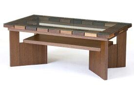 レグナテック コット95 ガラスリビングテーブル センターテーブル ソファー机 長方形タイプ シンプルナチュラル ウォールナット・オーク コーヒーテーブル 木製 LEGNATEC クラッセ CLASSE Grosse 日本製家具