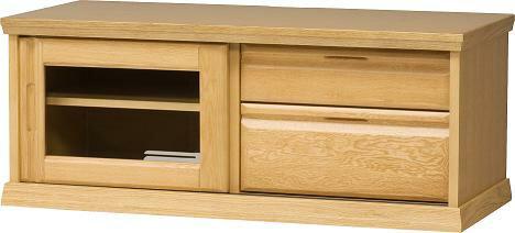 大雪木工 ストリームSTREAM 103 引戸TVボード テレビ台 薄型テレビ対応 ナチュラル 木製 送料無料 北海道家具 日本製