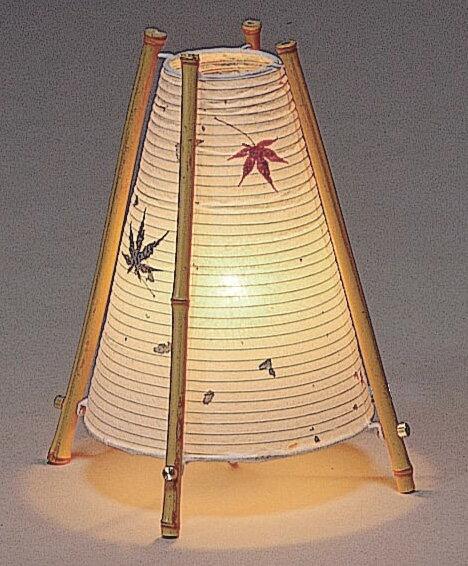S-743 もみじ金粉入り和紙 スタンドライト ランプ付き 和風照明 和室 和 モダン 照明器具 ランプ 天井照明 おしゃれ アジアン ダイニング リビング 和室 あかり インテリア家具 照明 白ホワイト 和風 店舗 住宅用 送料無料 日本製