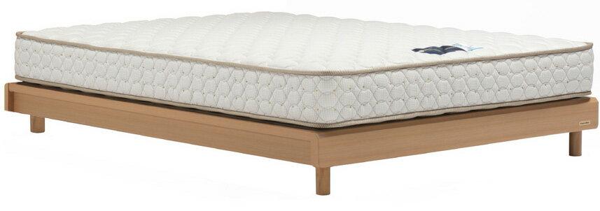 フランスベッド ネクストランディFFヘッドレス クイーン170 レッグタイプ・脚付き 木製 日本製 送料無料家具 ナチュラル ダーク 省スペース フレームのみ