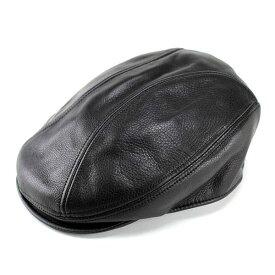 ニューヨークハット New York Hat レザー 牛革 本革 帽子 メンズ レディース 9250 ブラック 黒 ハンチング帽子 メンズ [ivy cap] 送料無料 (秋冬帽子 ファッション ハット ハンチング ギフト 誕生日 男性 30代 40代 通販 楽天)