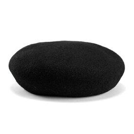 帽子 レディース ベレー帽 国産バスクベレー 大きいトップで耳まですっぽり ブラック (ベレー帽 大きめ バスクベレー バスクベレー 40代 おしゃれ 女性 ぼうし ギフト 30代 20代 誕生日プレゼント 50代 ファッション)