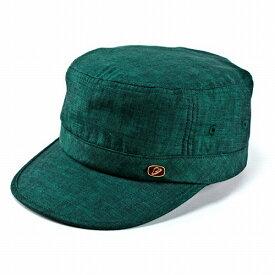 ワークキャップ メンズ ボルサリーノ 春夏 帽子 キャップ 麻100% リネン borsalino グリーン 緑 [cadet cap] 送料無料(40代 50代 60代 70代 ファッション ワーク ドゴールキャップ 紳士帽子 ミリタリーキャップ おしゃれ 通販 ブランド帽子 中央帽子 男性 ぼうし)