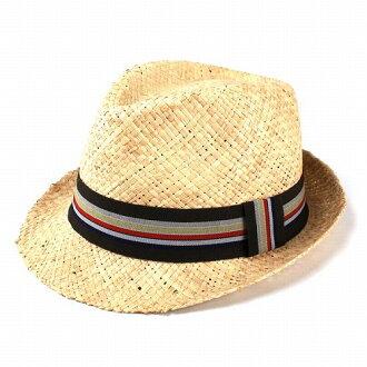 稻草帽子男士 / 品牌 Henschel / 女士帽子夏天 / 侯赛因成立帽子 / 帽帽子 / 卡拉 · 贝德丝带天然彩色丝带 (动漫/漫画帽和中期)