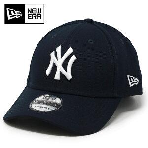 ニューエラ NEWERA キャップ ニューヨーク ヤンキース ロゴ 9FORTY ADJUSTABLE MLB COLLECTION MLB 帽子 フリーサイズ ベースボールキャップ メジャーリーグ 野球チーム / 紺 ミッドナイトブルー [ baseball