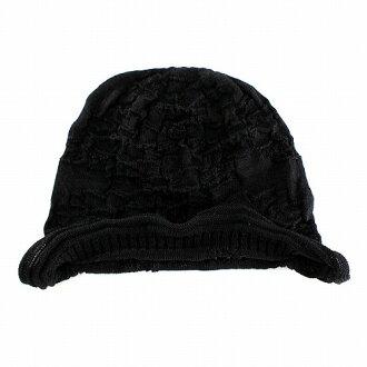 LE MILIEU (Le milieu) silk   linen knit watch shallot black (knit hat Kamon Cap  Caps birthday presents black winter Hat knit fashion popular adult cute cute  ... 95425362c29