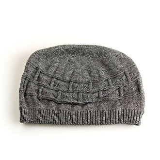 Hat knit Kamon / cotton 100% short watch / men's / women's / all seasons grey (casual fashion hats CAP and knit hats caps Kamon Cap fall/winter cotton knit Cap watch fall winter winter)