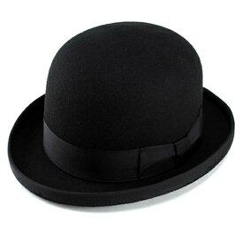 帽子 メンズ ハット 無地 ボーラーハット ウール 羊毛 フェルト 帽体 レディース 秋 冬 ダービーハット 0b8044dd2517