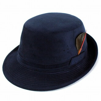 1b766f018ec Hat Hat Hat mens borsalino Alpine Hat suede artificial leather  storage-friendly borsalino Navy (large size fall for fall winter  merchandise Hat CAP and ...