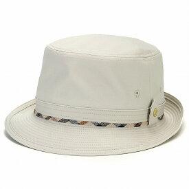 帽子 ハット メンズ ダックス シンプルアルペンハット コットン アイボリー(メンズハット DAKS 紳士帽子 綿100% SS 53.5cm S 55cm M 56.5cm L 58cm LL 59.5cm 3L 61cm 大きいサイズ 夏 洗える帽子 日よけ 紫外線対策 おしゃれ 大きめ 誕生日 プレゼント ぼうし)
