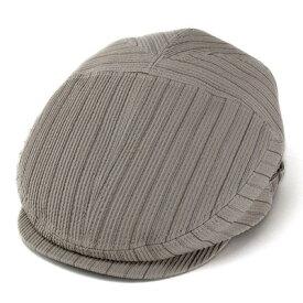 メンズ ハンチング 帽子 ピンストライプ 爽やかな肌触り 凹凸素材 ボルサリーノ (borsalino 日本製 ハンチング プレゼント 男性 通販 ハンチング帽子 贈り物 お父さん 贈物 おくりもの 彼氏 紳士帽子 プレゼント ぼうし オシャレ おしゃれ)[ ivy cap ]