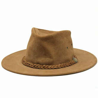 Foldable leather Hat hats mens / Henschel cowboy / Fedora hat and suede hat (fall for autumn and winter products Hat CAP and Fedora hats Western hats store Rakuten)