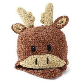 SanDiegoHat(サンディエゴハット) 帽子 キッズ 子供 ニット帽 アニマルニットキャップ ムース シカ