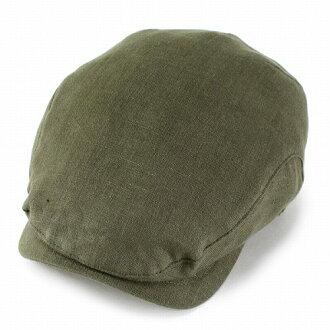 Hunting men's hat WIGENS Wigan hemp linen imported brands to Manish Trad classic Hunting Hat hunting Cap spring summer / olive (hat and Cap Cap Cap Cap summer CAP) Vignes (10P07Nov15)