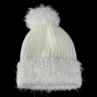 ac7733db9aa Cute knit hat Cap fancy feminine with women s knitted hats stylish fashion  off-white (knit white white winter sweets birthday gift Hat knit dress cute  ...