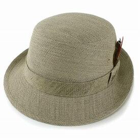 帽子 メンズ ハット Borsalino ボルサリーノ アルペンハット 日本製 春夏 サマーウール メッシュ アルペン帽 紳士 ベージュ (紳士帽子 ウールハット 40代 50代 60代 70代 ファッション ウール 通販 メッシュ ブランド帽子 中央帽子 メンズハット ぼうし)[ alpine hat ]