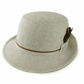 ハット メンズ 帽子 Borsalino ボルサリーノ アルペンハット 春夏 麻 日本製 アルペン帽 紳士 リネン ベージュ (40代 50代 60代 70代 ファッション おしゃれ 紳士帽子 男性 メンズ帽子 通販 ブランド帽子 中央帽子 メンズハット ぼうし)[ alpine hat ]