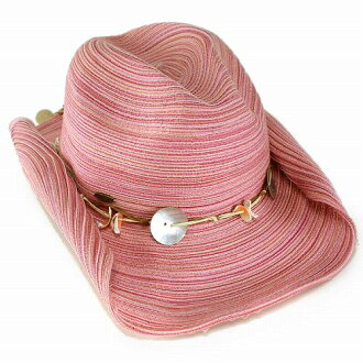 371f253c21f Hat women s SCALA scalar Plains cowboy spring summer shell with scalloped  Fuchsia (Pink).