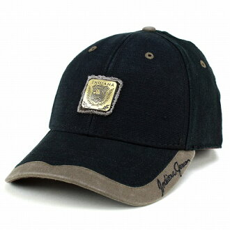 Hat Cap Indiana Jones cotton cotton basic design casual mens black black cap and men's INDIANA JONES men's accessory gift gifts father's day outdoor [cap]