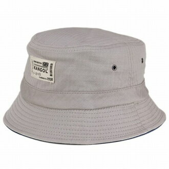 KANGOL KANGOL   bucket Hat spring summer   popular Hat   mens KANGOL Hat    cotton herringbone  kangol brands   Safari hat and silver gray Argent (hat  shop ... a5c6d921f36