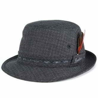 93fb9e55943 Borsalino borsalino   Alpine Hat gentlemen   hats brands   Hat men s    check pattern wool   charcoal gray (fall for fall winter merchandise Hat CAP  and ...