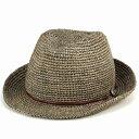 帽子 メンズ レディース 大きいサイズ あり 麦わら帽子 ストローハット プレゼント おしゃれ ラフィア 中折れハット …