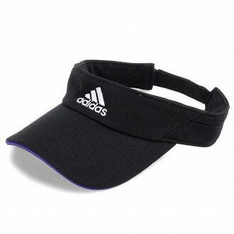 7ec40c23 adidas sun visor mens visor ladies Hat accessories adidas UV cut Golf  sports running black [