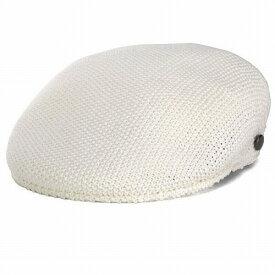 Borsalino ボルサリーノ ボルサリーノ ハンチング帽 メンズ 春夏 サーモニット ハンチング borsalino メンズ 帽子 サイズ調整可 プロムナード オフホワイト オフ白 [ivy cap] 春夏 メンズ プレゼント 送料無料 (ぼうし ハンチング帽子)