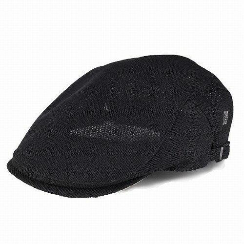 DAKS ダックス ハンチング 帽子 メンズ メッシュ 通気性 春夏 ダックス 涼しい ブラック 黒 男性 日本製 ギフト 小物 カジュアル [ivy cap] 送料無料 (サマーハット ハンチング帽 通販 ぼうし おしゃれ ハンチング帽子 黒 夏用 夏の帽子 紳士帽子)