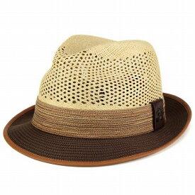 ハット メンズ 中折れ 春夏 Carlos Santana カルロスサンタナ パナマハット メキシコ製 タン ベージュ 男性 春夏 [fedora] [panama hat] 送料無料 パナマ 紳士帽子 パナマ帽 中折れ帽子 中折れハット メンズハット おしゃれ 40代 50代 60代 ファッション小物 ぼうし