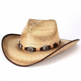 STETOSON ステットソン カウボーイハット メンズ 麦わら帽子 ウエスタンハット 春 夏 ステットソン テンガロン ワイルド KIMBALL ブロンド ベージュ [cowboy hat](テンガロンハット カウボーイ ハット ウェスタンハット ストローハット 紳士帽子 メンズハット) 送料無料