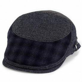 ボルサリーノ ハンチング 帽子 メンズ borsalino メンズ ウール パッチワーク グラデーション 紺 ネイビー (ボルサリーノ 帽子 彼氏 紳士帽子 通販 男性 プレゼント オシャレ おしゃれ ハンチング帽 ぼうし ハンチング帽子)