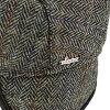 wigens猎帽magee玛吉苏格兰呢羊毛人帽子vigenzu秋天冬天护耳罩人字形深灰色